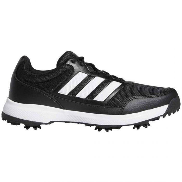 Adidas Tech Response 2.0 Golf Shoes Black/White