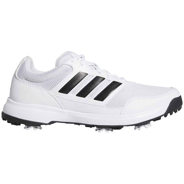 Adidas Tech Response 2.0 Golf Shoes White/Black