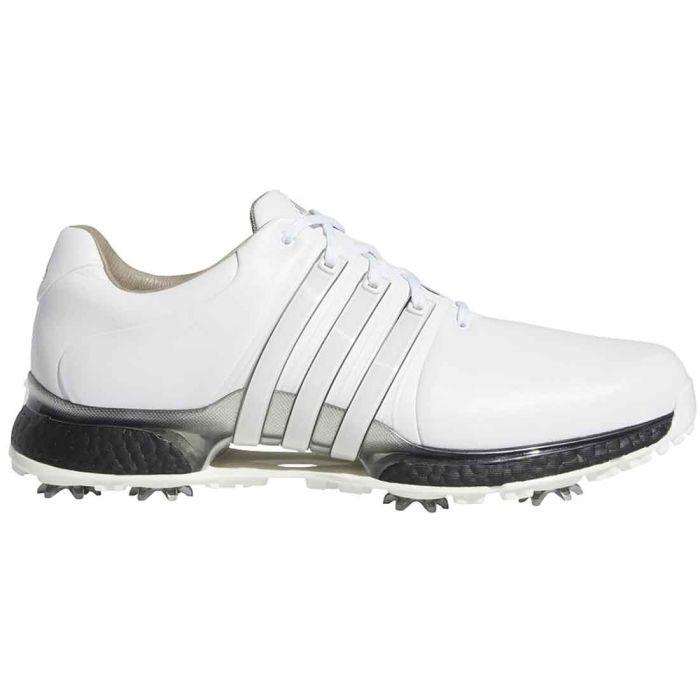 Adidas Tour360 XT Golf Shoes White/Black/Silver