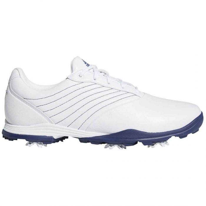 Adidas Women's Adipure DC2 Golf Shoes White/Blue