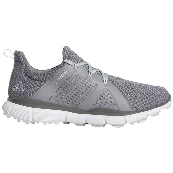 Adidas Women's Climacool Cage Golf Shoes Grey/Green