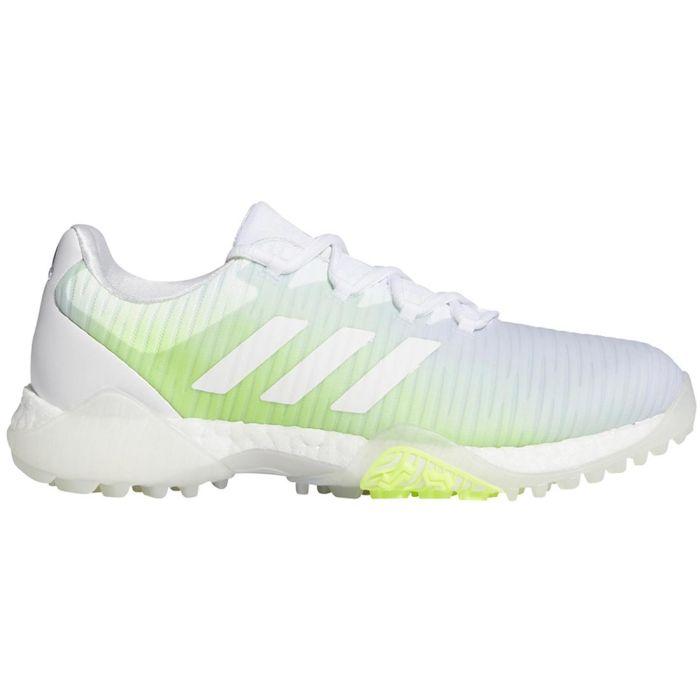 Adidas Women's Codechaos Golf Shoes White/Signal Green