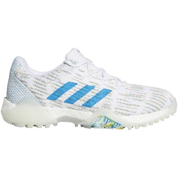 Adidas Women's Codechaos Primeblue Golf Shoes White/Sharp Blue