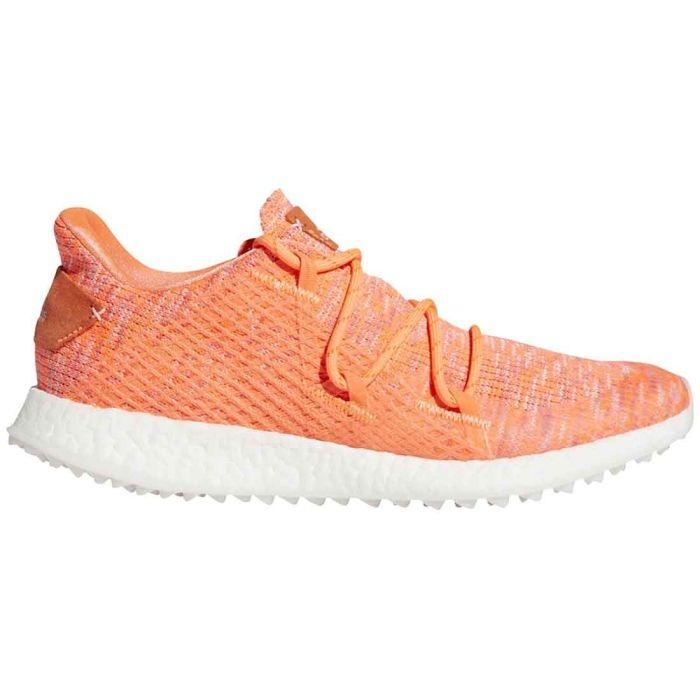 Adidas Women's Crossknit DPR Golf Shoes Coral/Grey