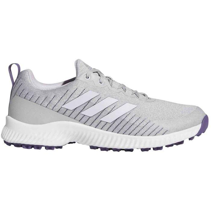 Adidas Women's Response Bounce SL Golf Shoes White/Purple