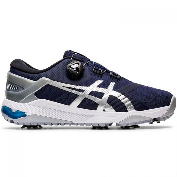 Asics Gel-Course Duo BOA Golf Shoes Peacoat/Silver