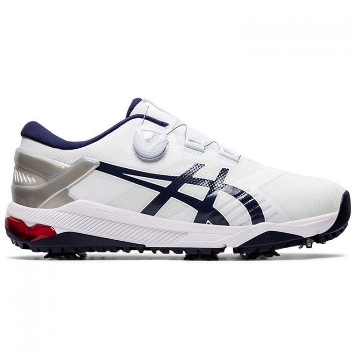 Asics Gel-Course Duo BOA Golf Shoes White/Peacoat