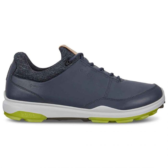 Ecco Biom Hybrid 3 GTX Golf Shoes Navy/Lime
