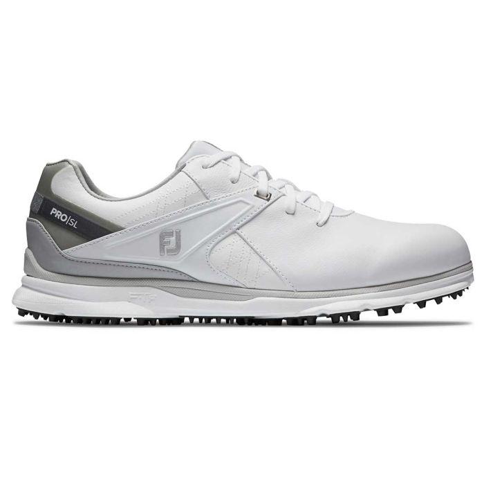 FootJoy Pro/SL Golf Shoes White/Grey
