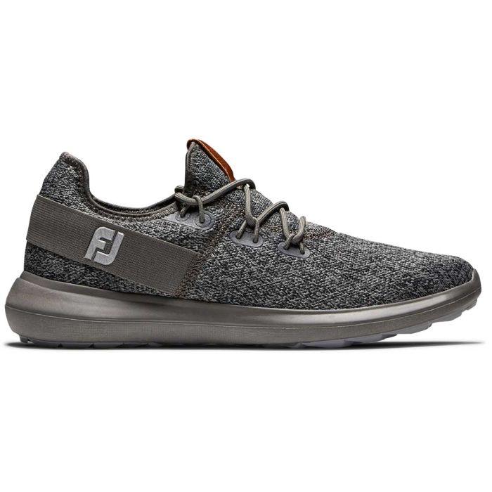 FootJoy Coastal Flex Golf Shoes Black/Charcoal