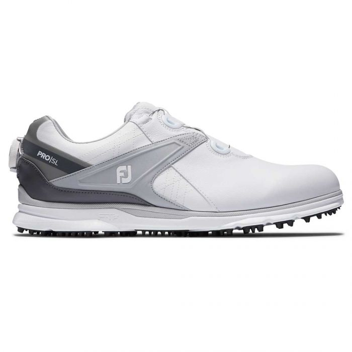 FootJoy Pro/SL BOA Golf Shoes White/Grey