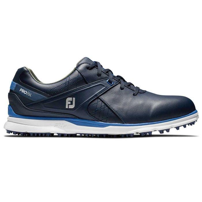 FootJoy Pro/SL Golf Shoes Navy/Light Blue