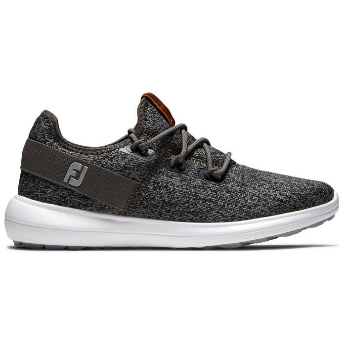 FootJoy Women's Coastal Flex Golf Shoes Black/Charcoal