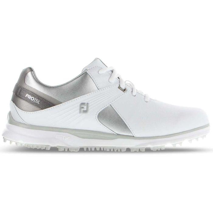 FootJoy Women's Pro/SL Golf Shoes White/Grey