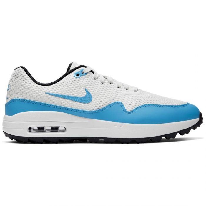 Nike Air Max 1 G Golf Shoes Summit White/University Blue