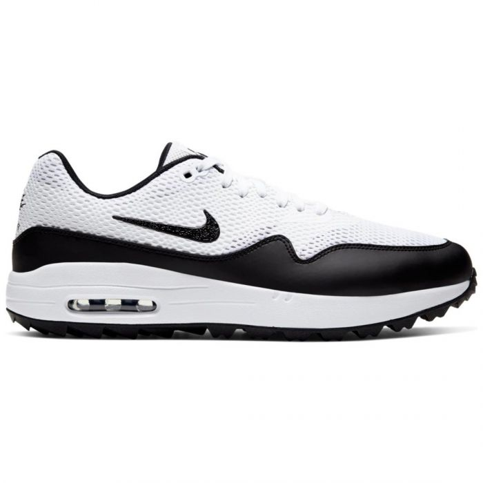 Nike Air Max 1 G Golf Shoes White/Black