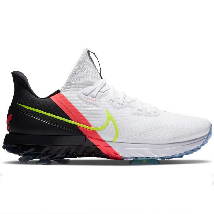 Nike Air Zoom Infinity Tour Golf Shoes White/Volt/Pink