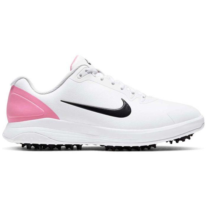 Nike Infinity G Golf Shoes White/Black/Lotus Pink