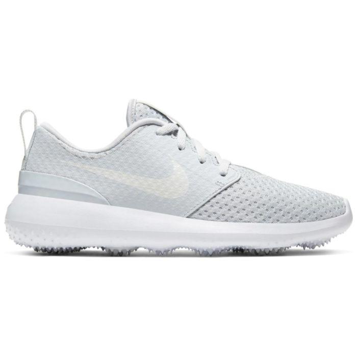 Nike Juniors Roshe G Golf Shoes Pure Platinum