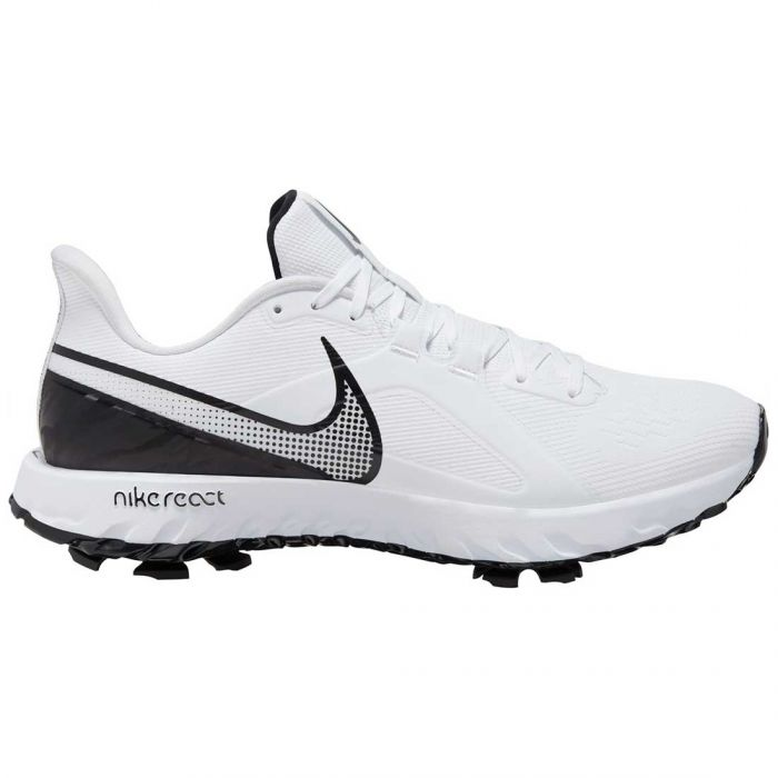Nike React Infinity Pro Golf Shoes White/Black