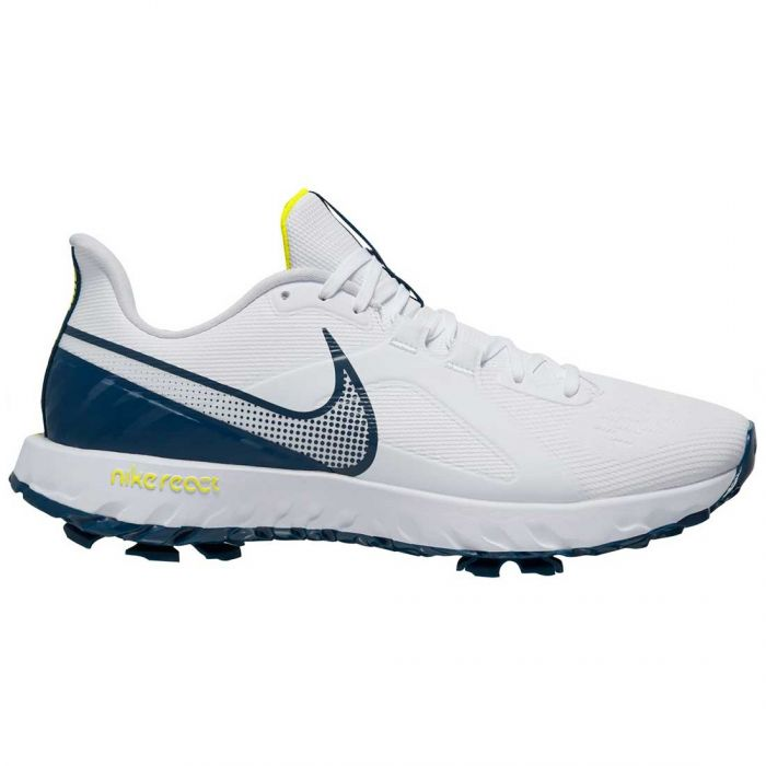 Nike React Infinity Pro Golf Shoes White/Valerian Blue