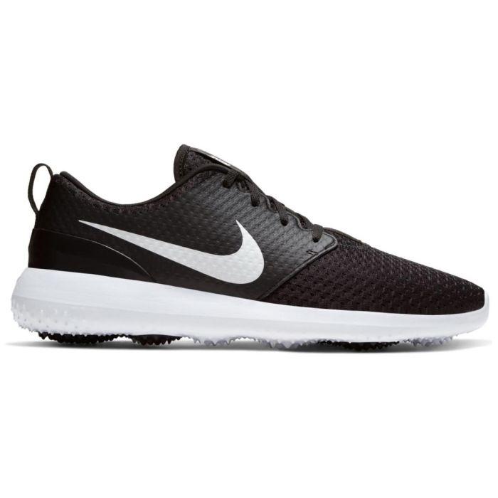 Nike Roshe G Golf Shoes Black/Metallic White