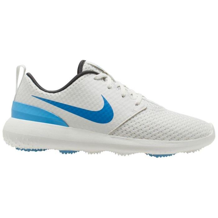 Nike Juniors Roshe G Golf Shoes Summit White/University Blue