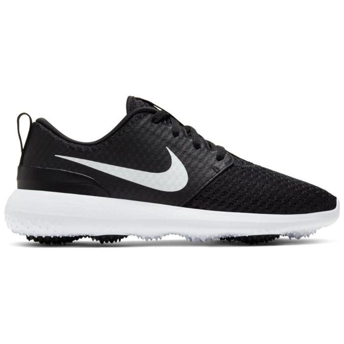 Nike Women's Roshe G Golf Shoes Black/Metallic White