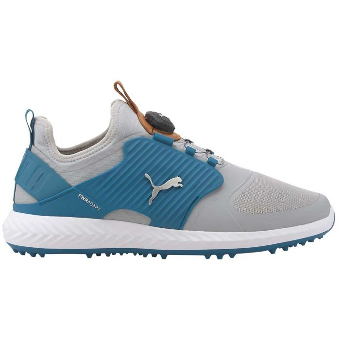 Puma Ignite PWRADAPT Caged Disc Golf Shoes High Rise/Silver