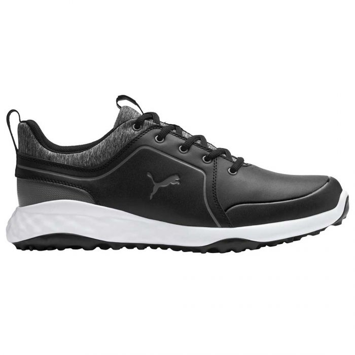 Puma Juniors Grip Fusion 2.0 Golf Shoes Black/Quiet Shade