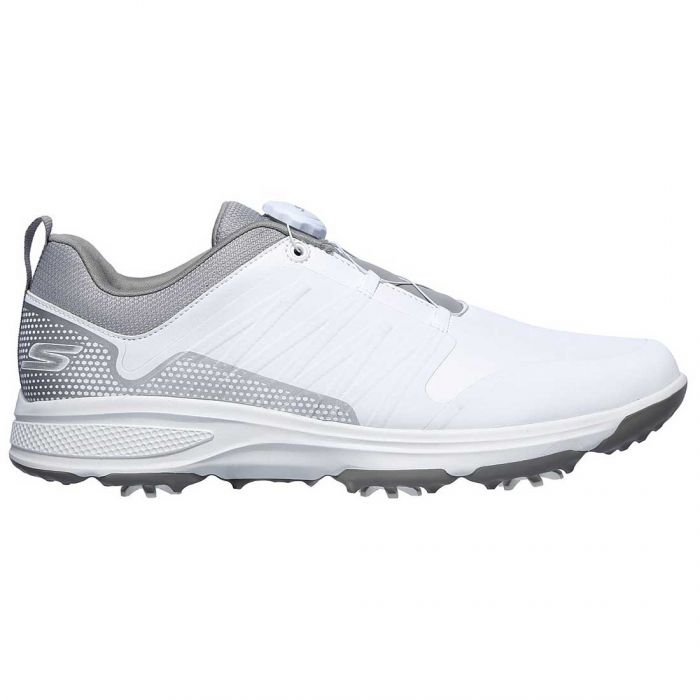 Skechers GO GOLF Torque Twist Golf Shoes White/Grey