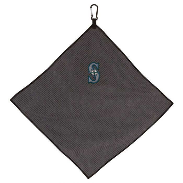 "Team Effort MLB 15"" X 15"" Grey Microfiber Towel"