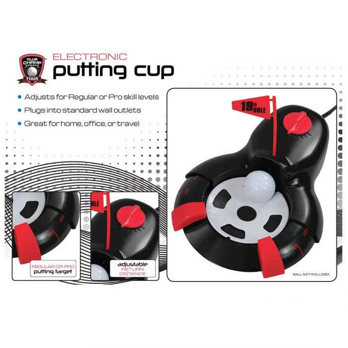 Golf Gifts & Gallery Electric Putting Cup