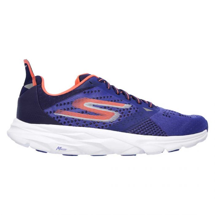 Skechers GOrun Ride 6 Shoes Blue/Orange