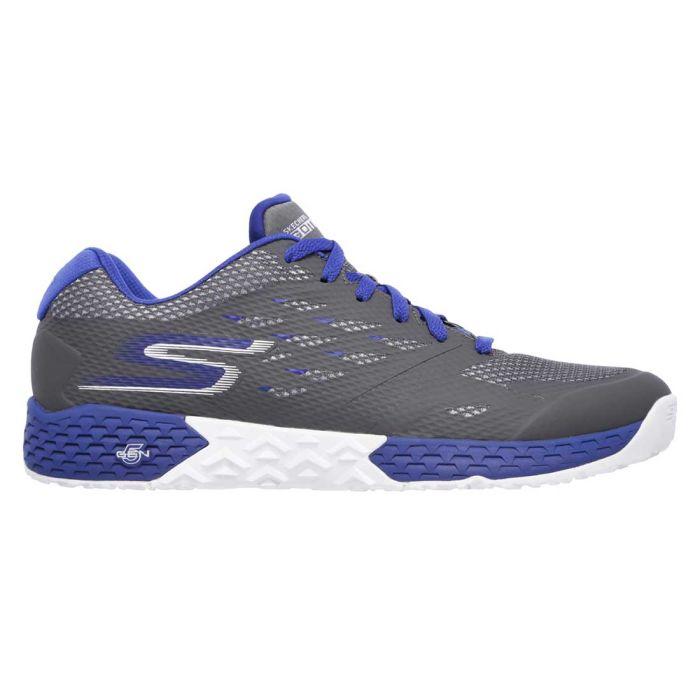 Skechers GOtrain Endurance Shoes Charcoal/Blue
