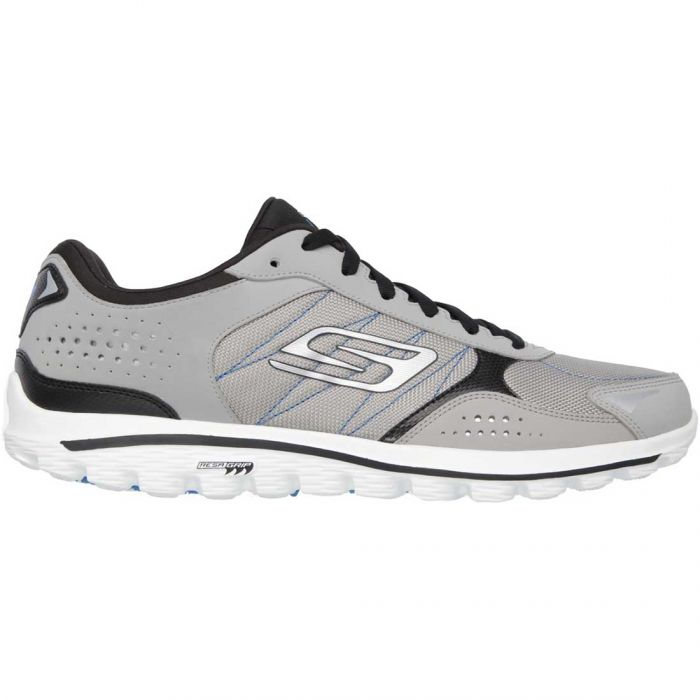 Skechers GOwalk 2 Lynx Ballistic Golf Shoes Grey/Black