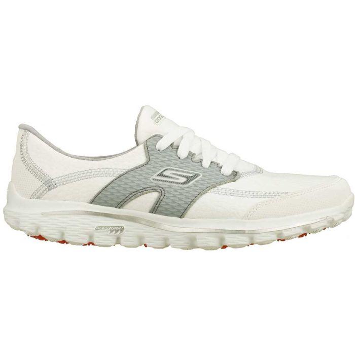 Skechers Women's GOwalk 2 Golf Shoes White/Grey