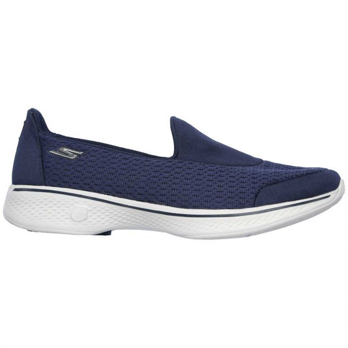 Skechers Women's GOwalk 4 Pursuit Shoes Navy/Grey