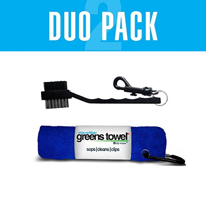 Clip Wipes Greens Towel Duo Pack