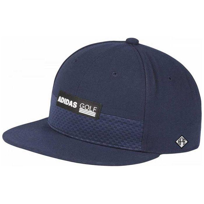 Adidas Tonal Block Flat Brim Snapback Hat