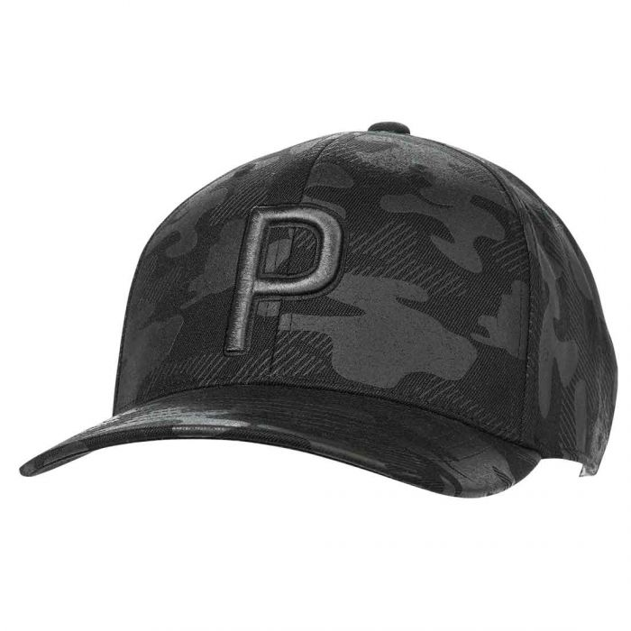 Puma P 110 Camo Pattern Snapback