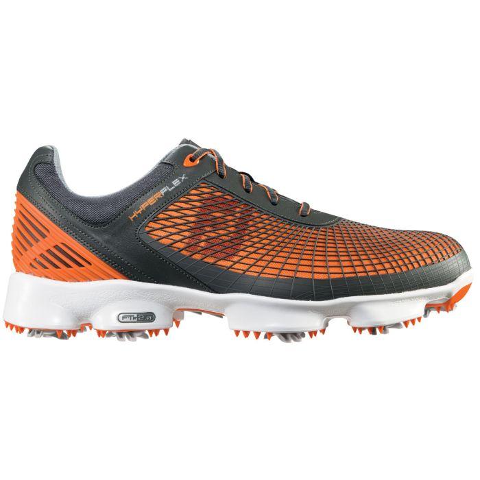 FootJoy HyperFlex Golf Shoes Grey/Orange