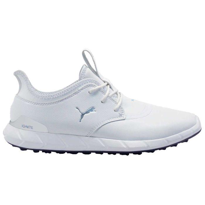 Puma Ignite Spikeless Pro Golf Shoes White