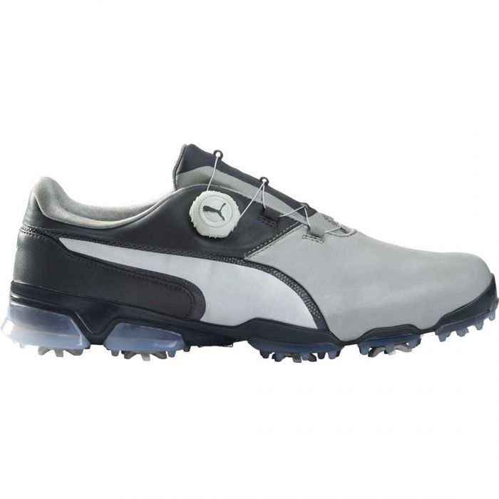 Puma TitanTour Ignite Disc Golf Shoes Grey Violet/White/Steel Grey