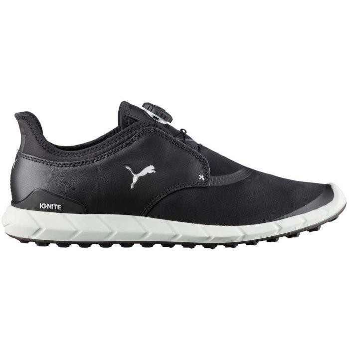 Puma Ignite Spikeless Sport Disc Golf Shoes Black/Silver