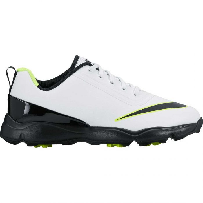 Nike Junior Control Golf Shoes White/Black