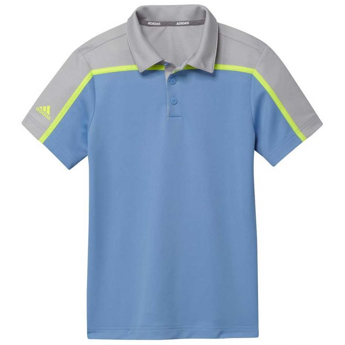 Adidas Boys Colorblock Polo