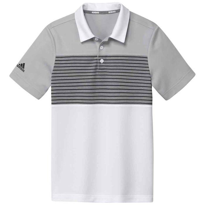 Adidas Boys Engineered Stripe Polo