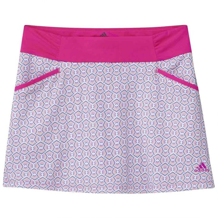 Adidas Girls Print Skort