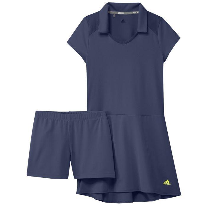 Adidas Girls Ruffle Dress